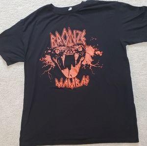 Bronze mambas shirt